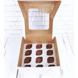 Cupcake doos - 12 cupcakes...
